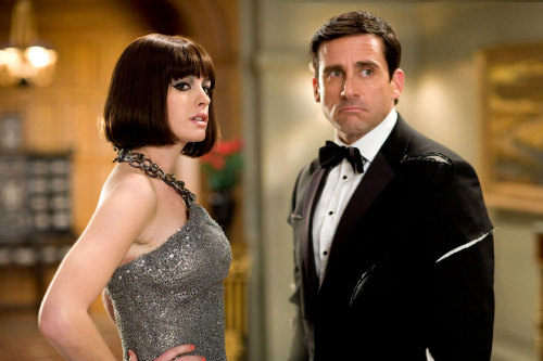 Anne Hathaway and Steve Carell in Get Smart