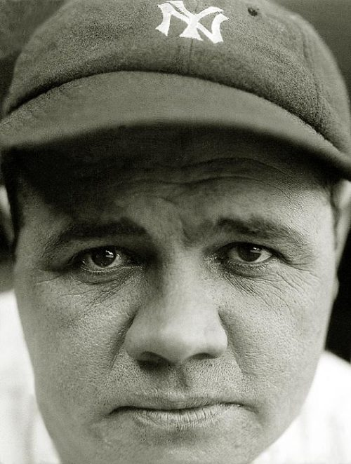 Happy 118th Birthday, Babe Ruth. Ruth died in 1948. Image copyright Charles Conlon/TSN/Icon SMI and courtesy of Sports Illustrated.
