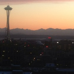 Not bad, Seattle. #nofilter #nowthursdays #seattle #sunset