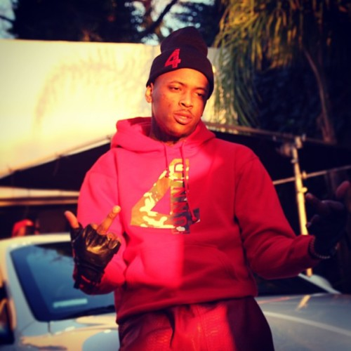 "#400 @YG on set of his ""Playin"" video shoot"