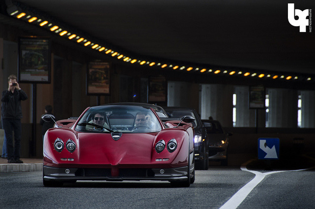 Pagani Zonda C12 by Bas Fransen Photography on Flickr.