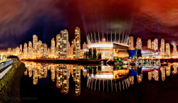 False Creek Panorama (by Milo Vosch)
