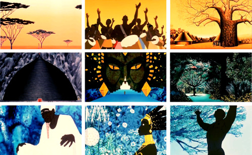 tellinpa:  Kirikou and the sorceress (Kirikou et la Sorcière) - 1998