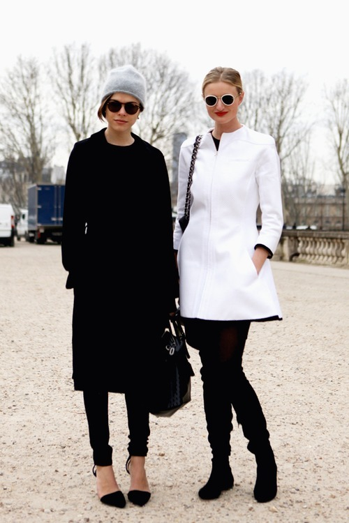 what-do-i-wear:  Emily & Candice (image: wethepeoplestyle)