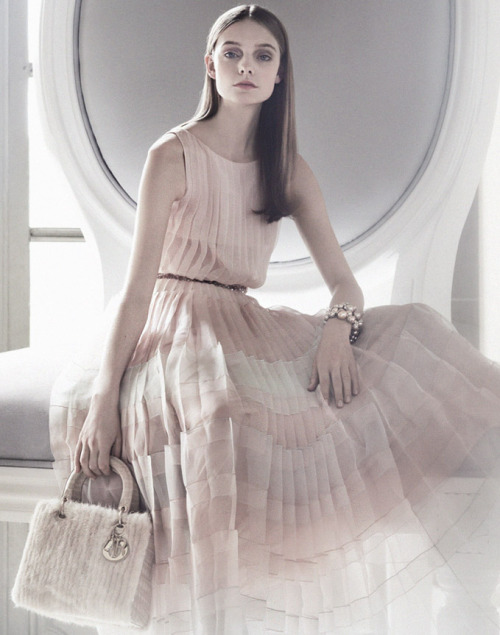 deprincessed:  Nimue Smit for the Dior, An Exceptional Christmas 2012 ad campaign