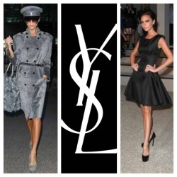 MissBeckham👌 #Yves #Saint #Laurent #YSL #victoria #beckham #couture #highfashion