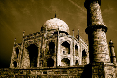 mangoachaar:  Taj Mahal, Part Four (by moi moi nz)  And Now The Other Taj Mahal!!!