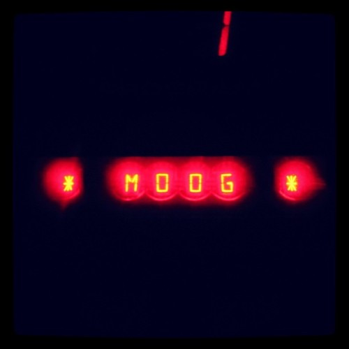 The Memorymoog Plus in the old You Shriek World Teen Fun Club studio #moog #synthporn