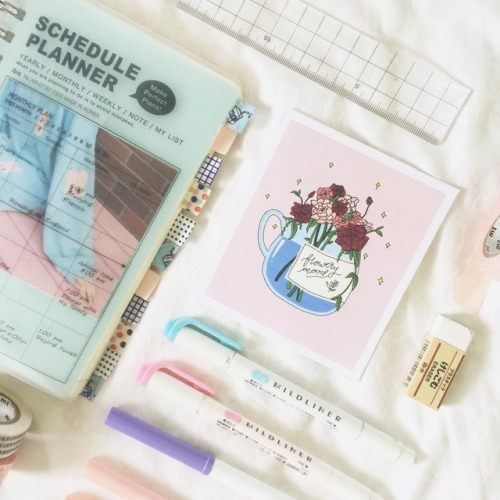 Image result for 500 x 500 pastel flatlay tumblr