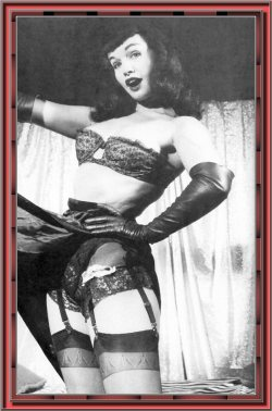 dega-view:  Bettie Page