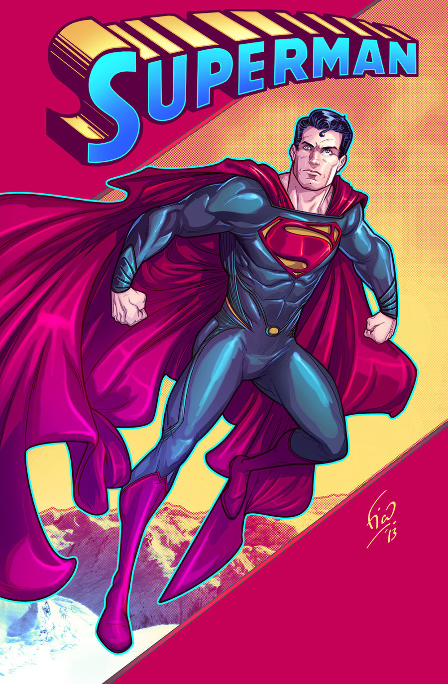 herochan:  Man of Steel Created by Fikkoro