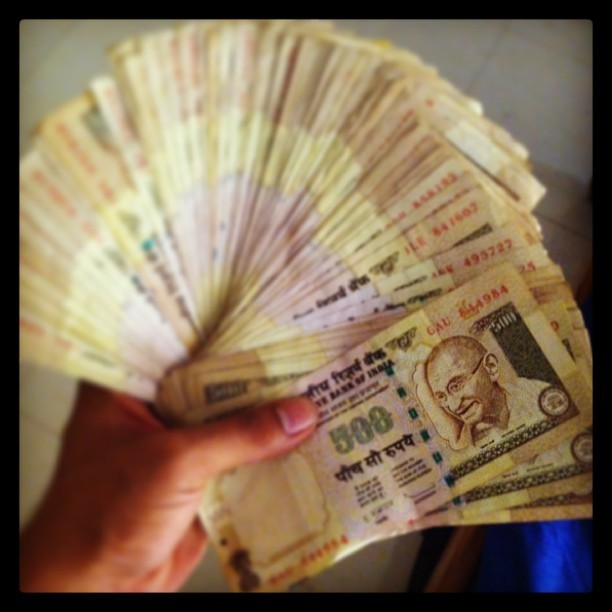 Cash is King #india #currency