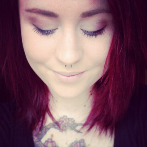 #lesbian #tattoos #ink #piercings #redhair