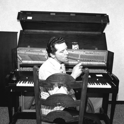 Jerry Lee Lewis, 1976 by Henry Horenstein. I love you, you crazy son of a gun.