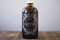 yuns:  love cold brew coffee Milton & Small