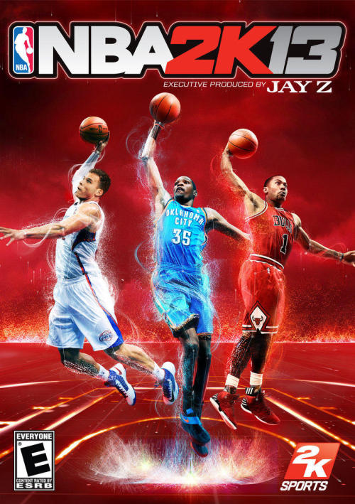 NBA 2K13 Look at all these guys we paid to be on our cover!