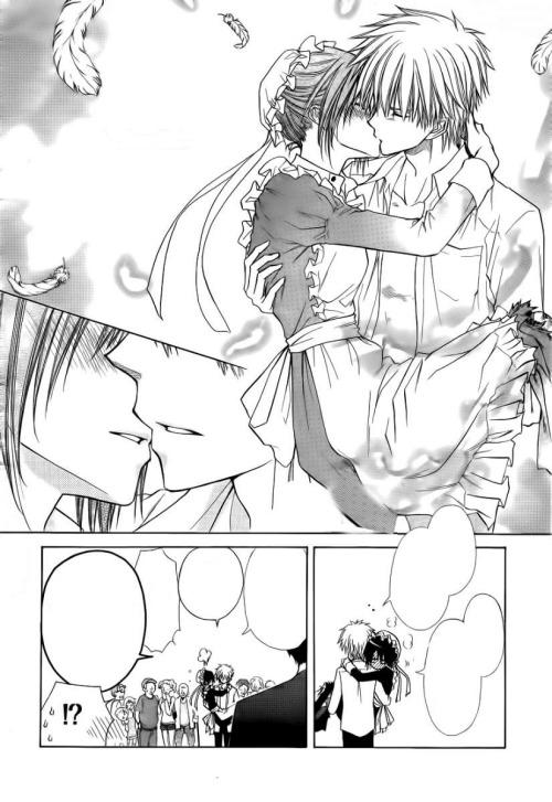 Kiss him…
