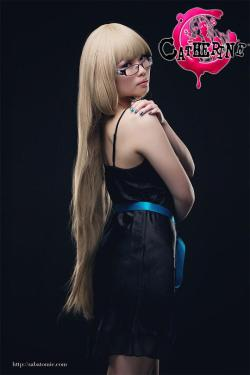 cosplay-paradise:  Katherine (from the game 'Catherine')  Cosplayer: Me