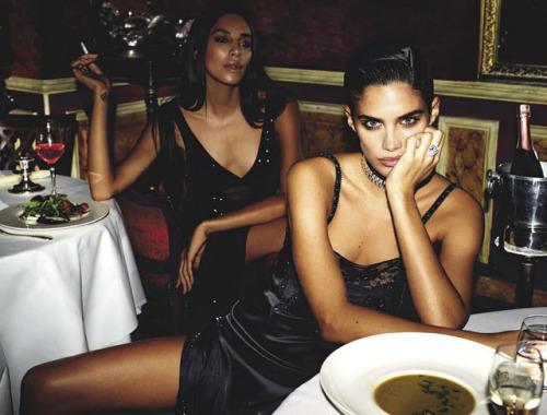 Sara Sampaio Vogue Italia editorial 2017