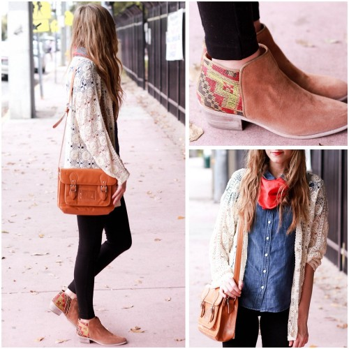 lookbookdotnu:  Southwestern casual. (by Steffy Kuncman)