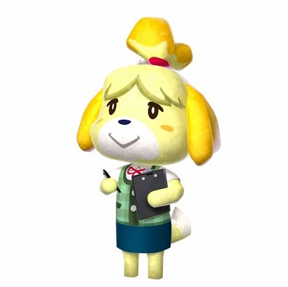 This Animal Crossing: New Leaf Character Gives Advice to the Town Mayor The Nintendo 3DS Facebook page will be introducing Animal Crossing: New Leaf characters in the coming days and weeks. Of course, this is in anticipation for the upcoming release of the game in North America. And N-Handhelds, your 3DS blog will be covering it extensively.Further reads: Is Animal Crossing for You? and How Animal Crossing and Its Social Aspect Can Entice People to Buy GamesThe first character that was introduced was Isabelle (Picture above). She'll be like your assistant (sort of). You are the mayor of the town, and Isabelle will be your right-hand. She'll be the one the mayor should turn into. Why? Because she'll give advice regarding customization and how to manage the town.Animal Crossing: New Leaf is coming to North America on June 9. 2013.You can buy Animal Crossing: New Leaf at Play-Asia! Please check out the game there. Big thanks! http://bit.ly/11jkJgW