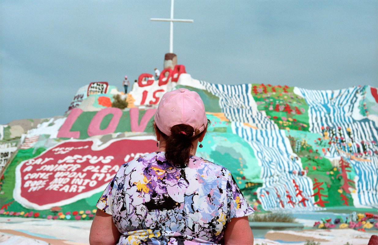 Salvation Mountain, CA 2013