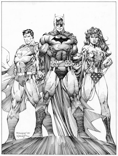 The Trinity by Jim Lee.