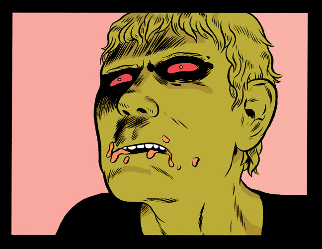 A panel from Care Part 2, made with Matt Sheean. Part One will be in Prophet #34, out February 27th. Part 2 will be in the March issue and the concluding part will arrive in April.