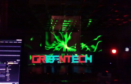 31 April 2013 - VJing for Tiger&Woods + more @ Greentech Festival 2013 /// Palazzo dei Congressi, Pisa [Italy]