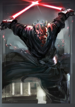 all-about-villains:  Darth Maul : by James Ghio / Blog