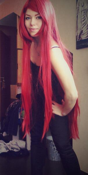 finally my new wig is there. I love it \*0*/