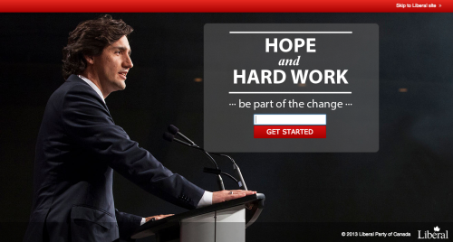 I was visiting the LPC website when I saw this splash screen. I wonder what they want me to type in their mysterious text field?