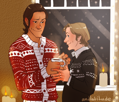 balletvamp:   Christmas advent prompts - hot cocoa + candlelight + baby it's cold outside  HOW DID I MISS THIS ONE? DEAR LORDY.