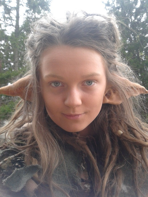 dustanddreads:  I just got home from the LARP. This is me as the troll Tyka. What do you think?