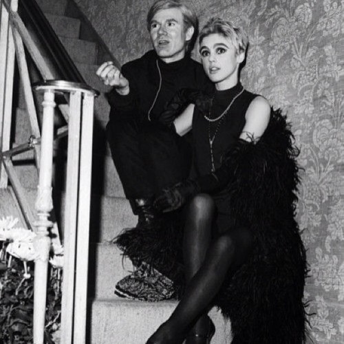 Poor little rich girl #ediesedgwick #andywarhol #itgirl #1960s #beautiful #iconic #idol #tragedy #art #friendship #love #factorygirl #lawsonwright & #lottietalbot