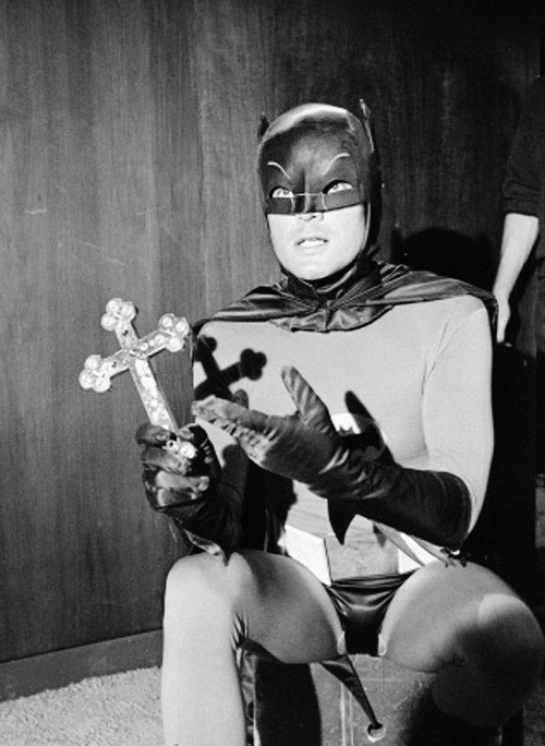 Adam West as Batman c. 1960s