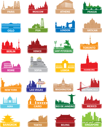 livearchitecture:  A very nice graphic of the most important cities all over the world…