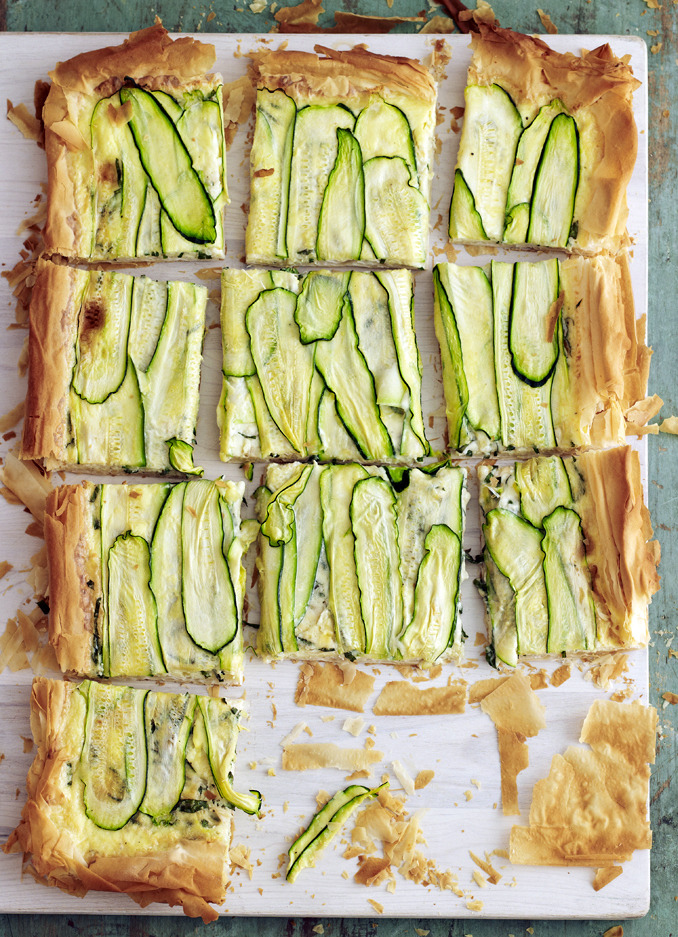 veganfeast:  foodopia:  zucchini tart: recipe here  Make it vegan!