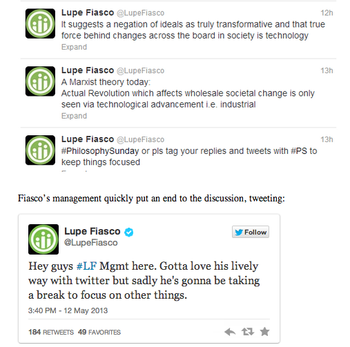 heller:  Salon : Lupe Fiasco loses control of Twitter account after writing about Marxism Management takeover!