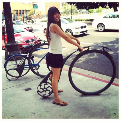 #littletokyo  #adventures #emily #cycling