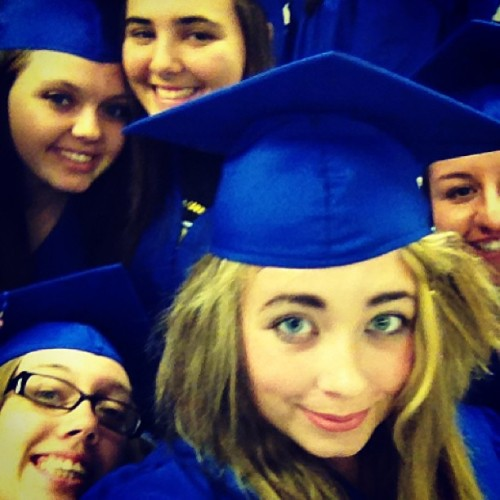 Me and the ladies! Almost time to #graduate! #thankgod #thirteenyears