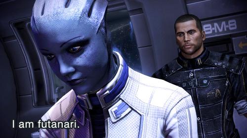 Liara + Shepard: The BIG Question (Mass Effect)