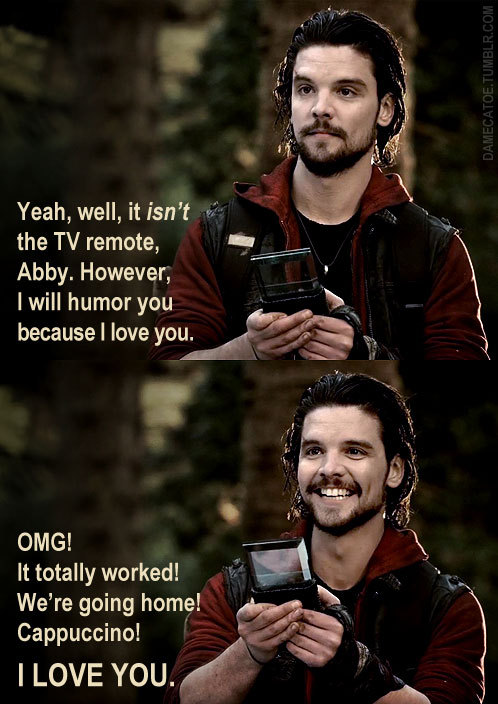 A Favourite Connor/Abby Moment