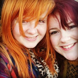 al4ddin-sane:  #nationalbestfriendday #friends #ginger #redhead #girls #friends #bestfriends