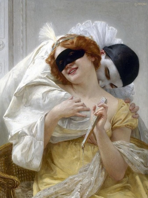 psychotic-art:  Guillaume Seignac - Pierrot's Embrace