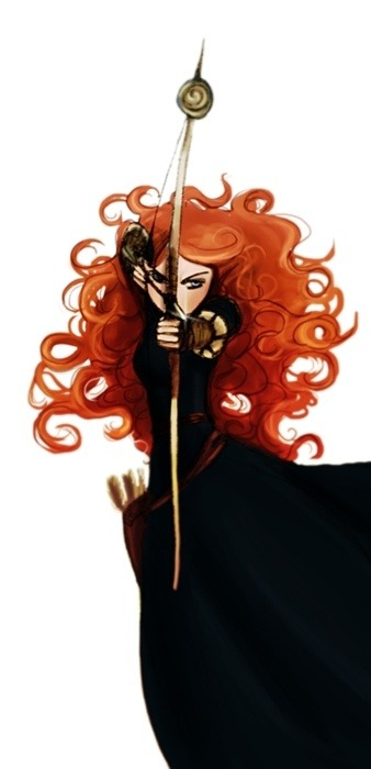 Beautiful rendition of Merdia from Brave