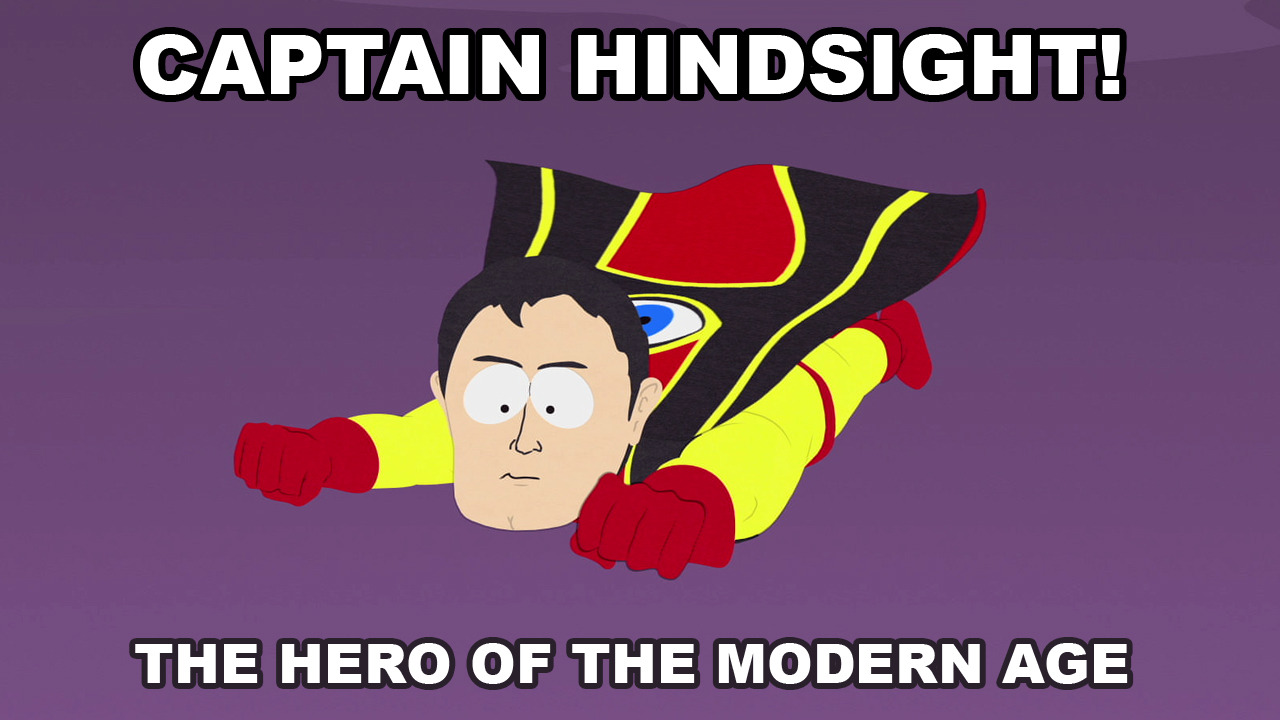 southparkdigital:  Watch it here: http://cart.mn/-sp-hindsight