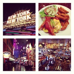 New York New York. #vegas  (på New York-New York Hotel & Casino)