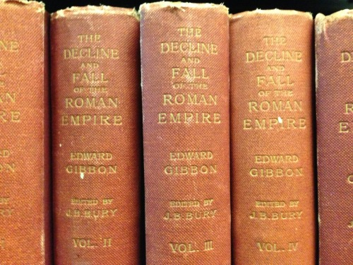 pushpinletters:  The Decline and Fall of the Roman Empire