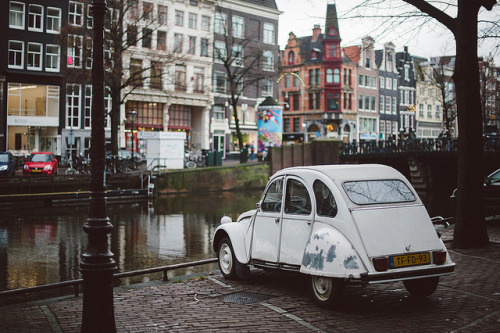 withbutterflies:  greekg0ds:  by joannablu  in Amsterdam, at least once a week a car rides into one of the canals.